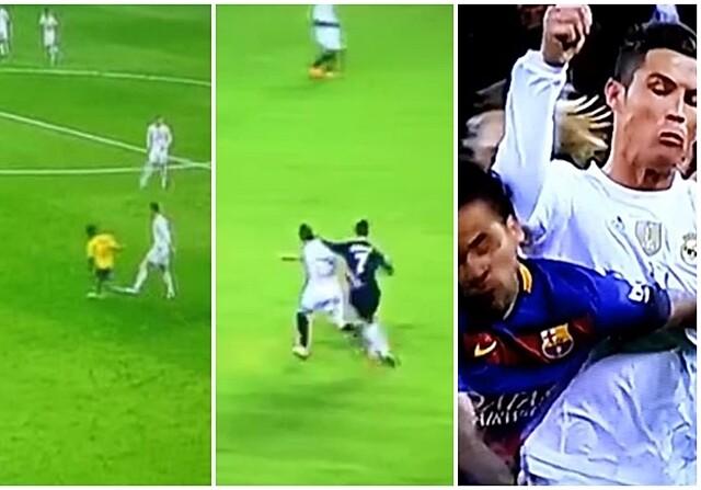 Cristiano Ronaldo agresiones