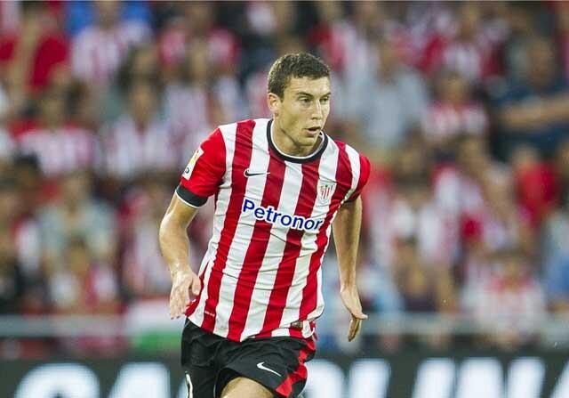 Óscar De Marcos con el Athletic de Bilbao