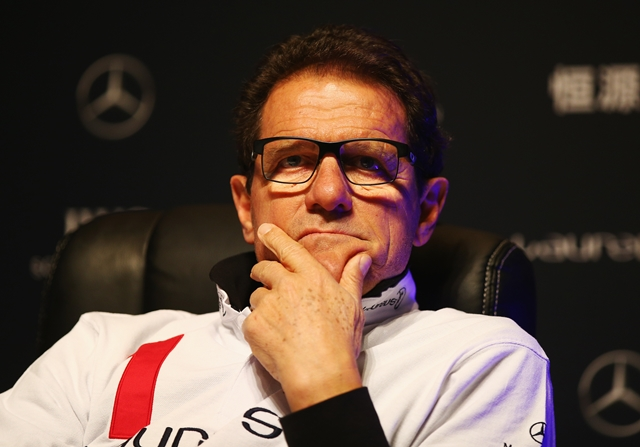 Fabio Capello ha sido entrenador del Real Madrid