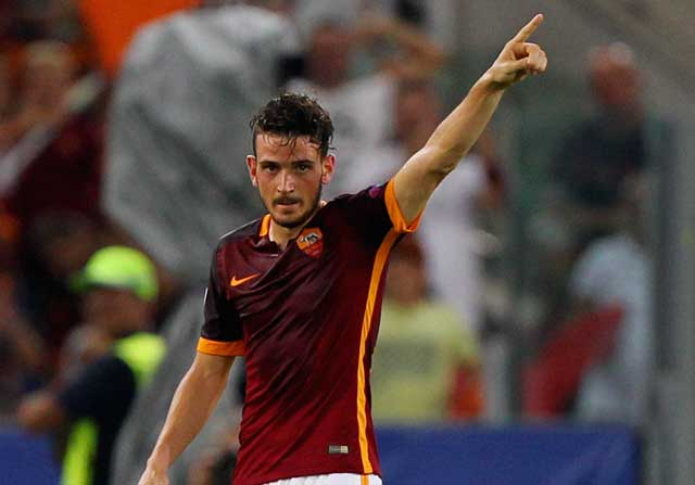 Alessandro Florenzi celebrando un gol