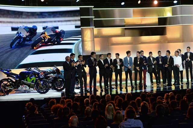 Rossi no acudió a la Gala de la FIM