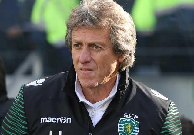Jorge Jesús, entrenador del Sporting de Lisboa