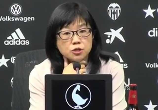Lay Hoon Chan, en rueda de prensa