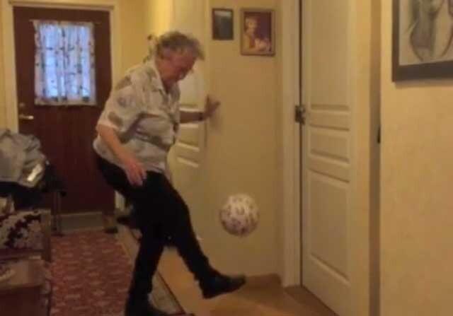 La mujer noruega de 90 años capaz de hacer...¡1003 toques!