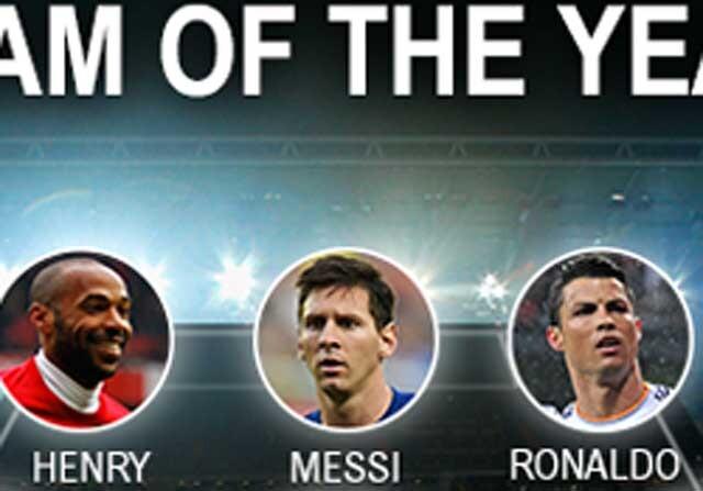 El mejor once histórico de la UEFA en el Siglo XXI