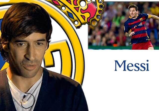 Raúl repasa los jugadores que marcaron su carrera