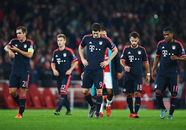 Robben y Lewandowski, en guerra en el Bayern de Múnich