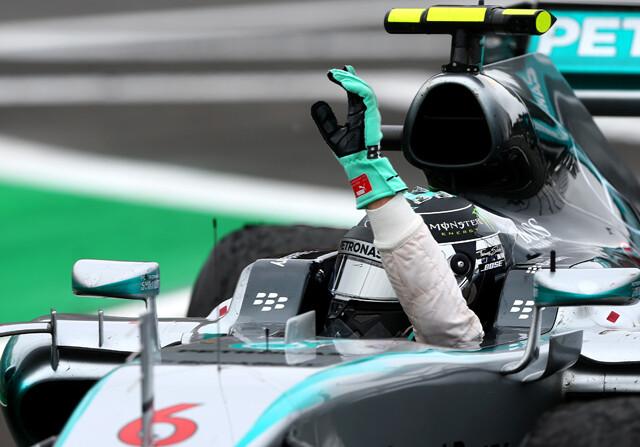 Rosberg Subcampeon