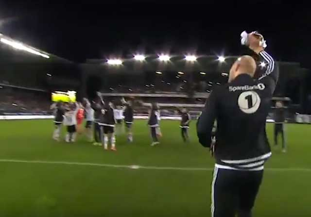 La apasionante celebración del Rosenborg