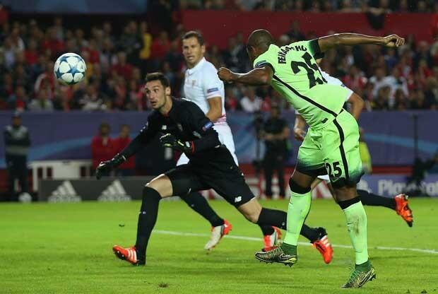 El Manchester City sorprendió al Sevilla en el Pizjuán