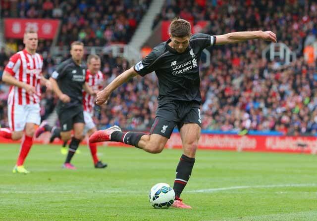 Steven Gerrard, en su etapa del Liverpool