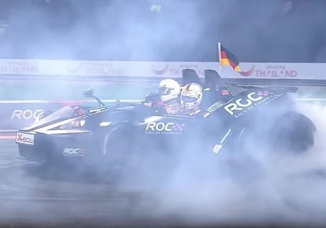 Vettel gana la ROC