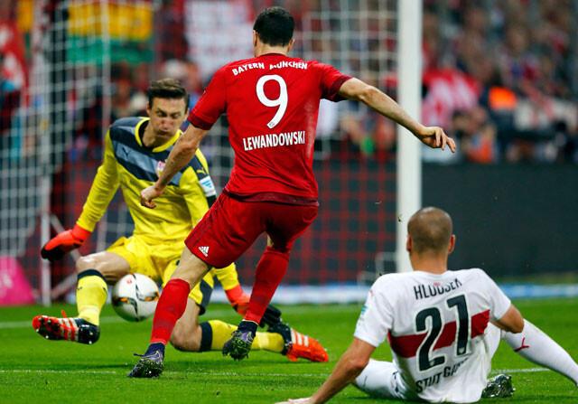 Bayern de Múnich 4 - 0 Stuttgart