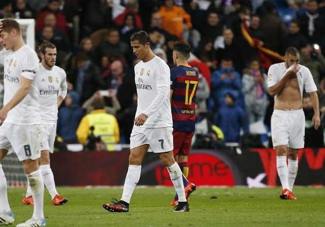 Benzema, Cristiano Ronaldo y Bale