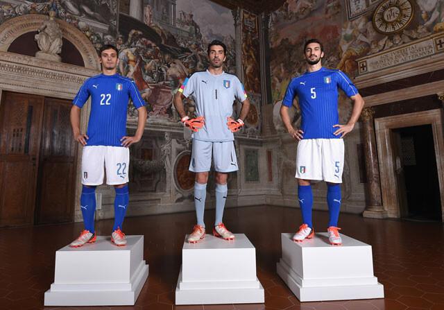 Camiseta de Italia para la Euro 2016