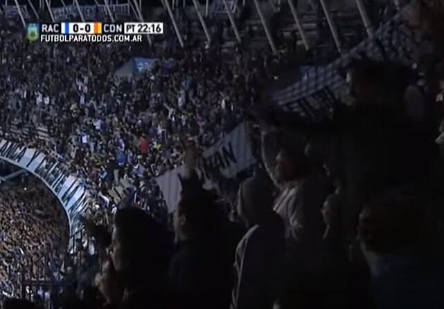 Diego Milito recibe una impresionante ovación
