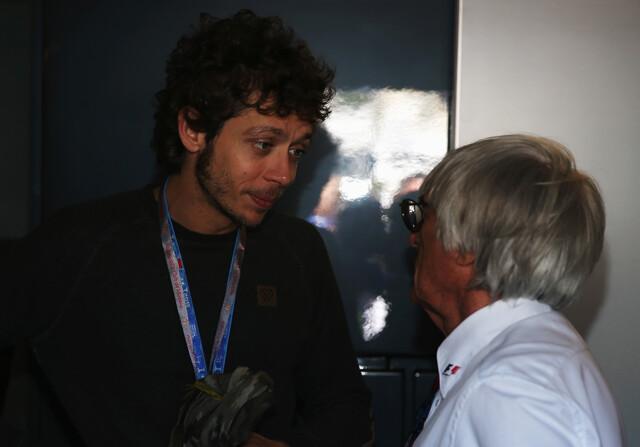 """Rossi habría sido descalificado """"seguro"""" en Fórmula 1"""