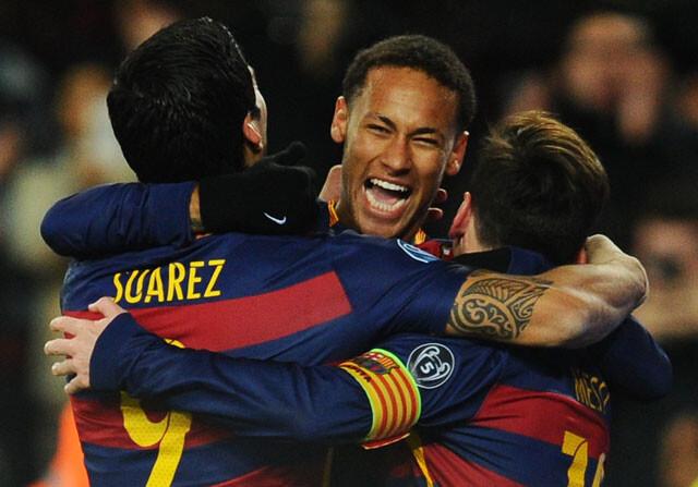 La MSN lleva en 2015 más goles que todo el Real Madrid