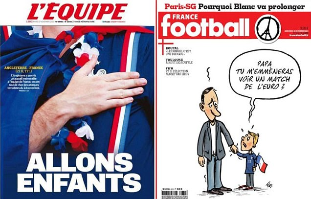 portadas Francia