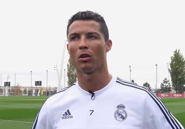 Cristiano Ronaldo en Valdebebas