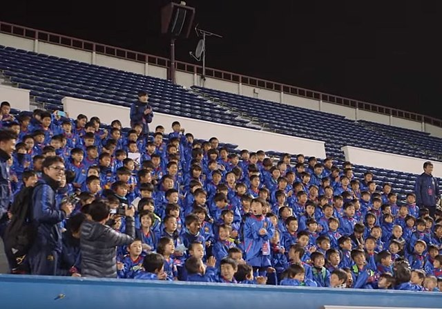 Barcelona niños Japon