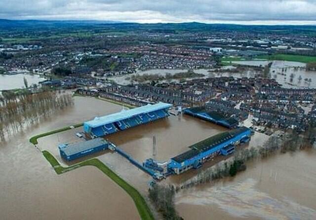 Brunton Park inundaciones
