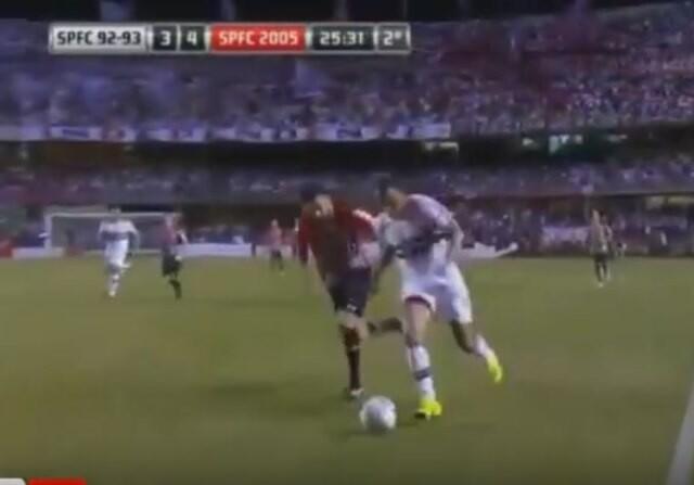 Cafú gol Rogerio Ceni