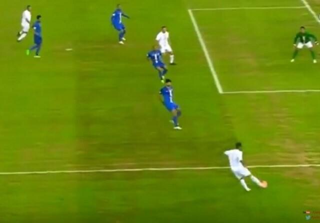 Figo gol Beckham