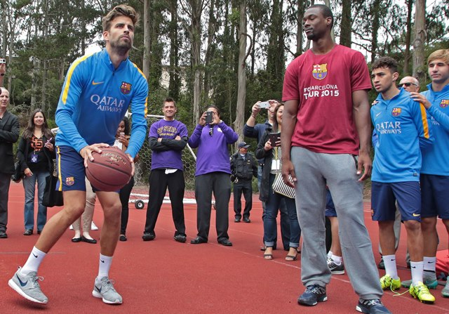 Messi Curry Pique NBA