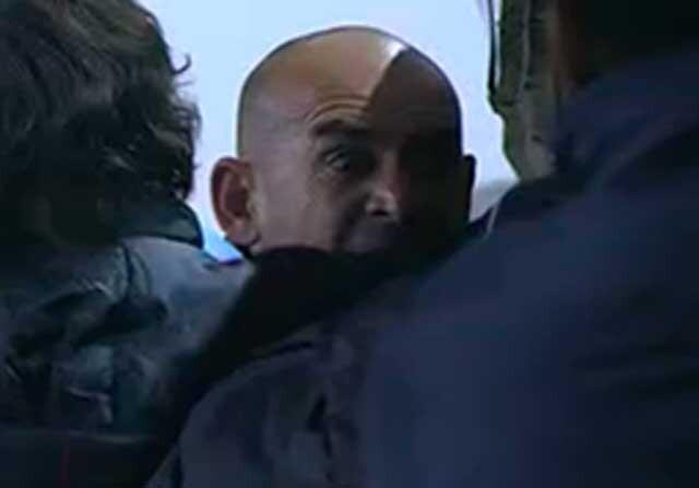 Paco Jemez en el banquillo del Rayo Vallecano