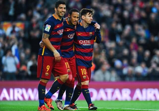 Record goles Barcelona MSN