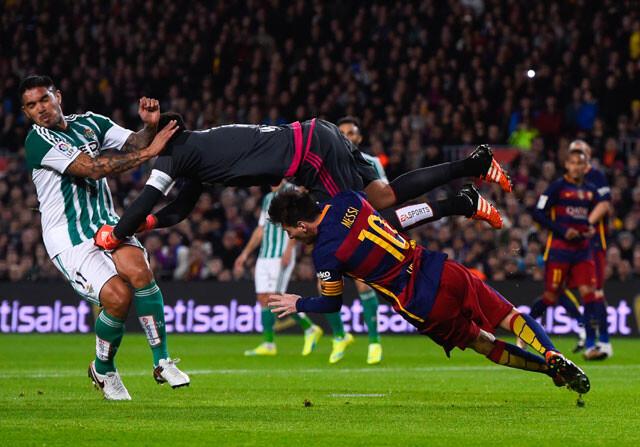 El penalti de Adán a Messi