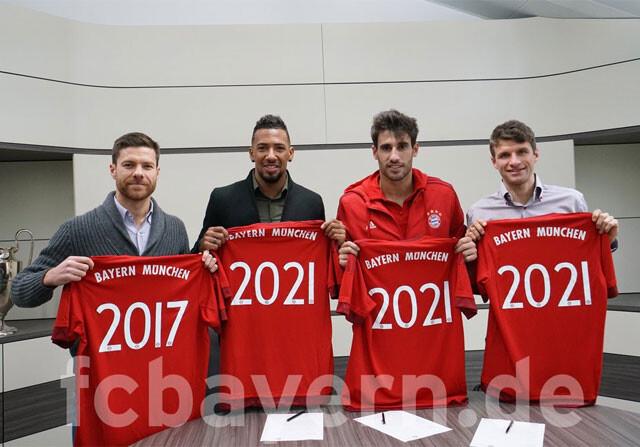 Renovaciones en el Bayern Múnich