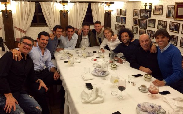 Cena Real Madrid