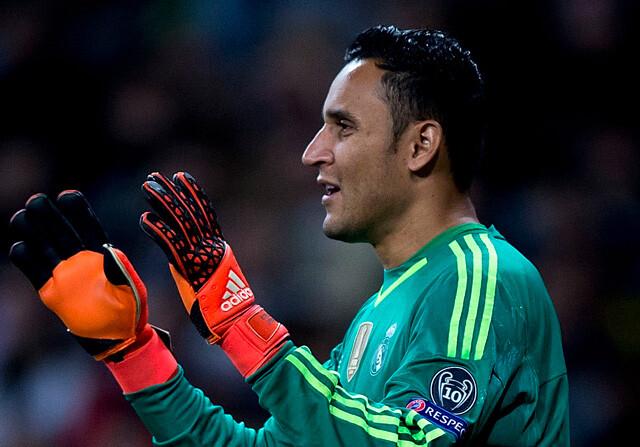 Keylor Navas es el portero del Real Madrid