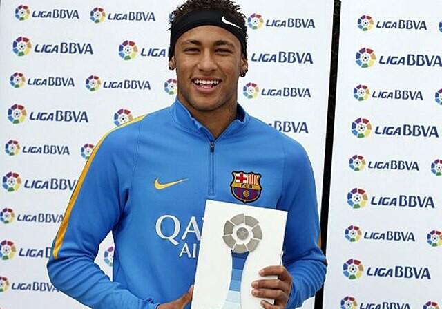 neymar premio liga