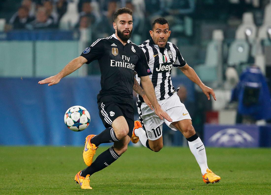 Las mejores imágenes del Juventus - Real Madrid