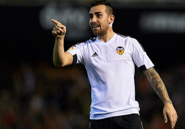 Paco Alcacer marcó el gol del empate ante Las Palmas