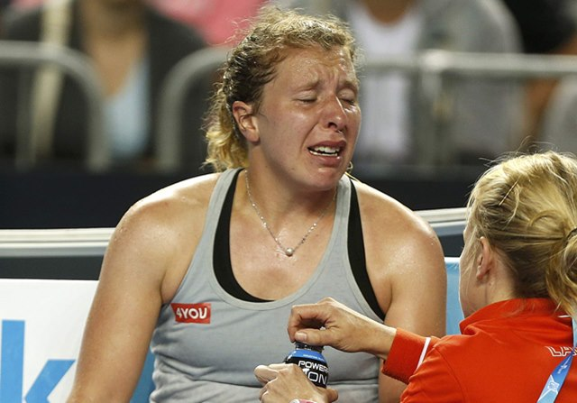 Anna-Lena Friedsam se retira en australia