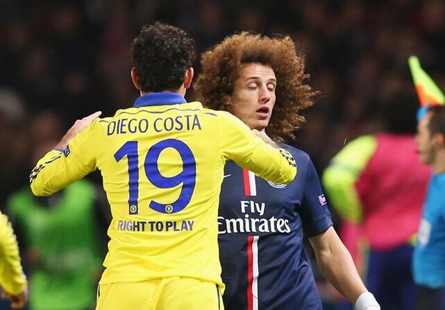 David Luiz quiere a Diego Costa en el PSG