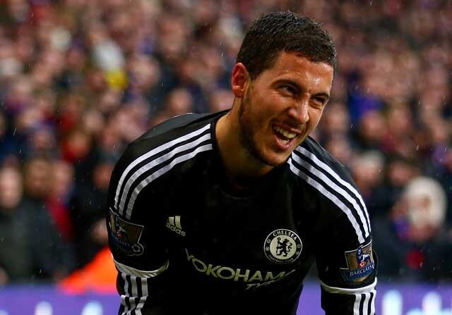Eden Hazard, del Chelsea