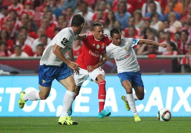 Partido entre Benfica y Estoril Praia