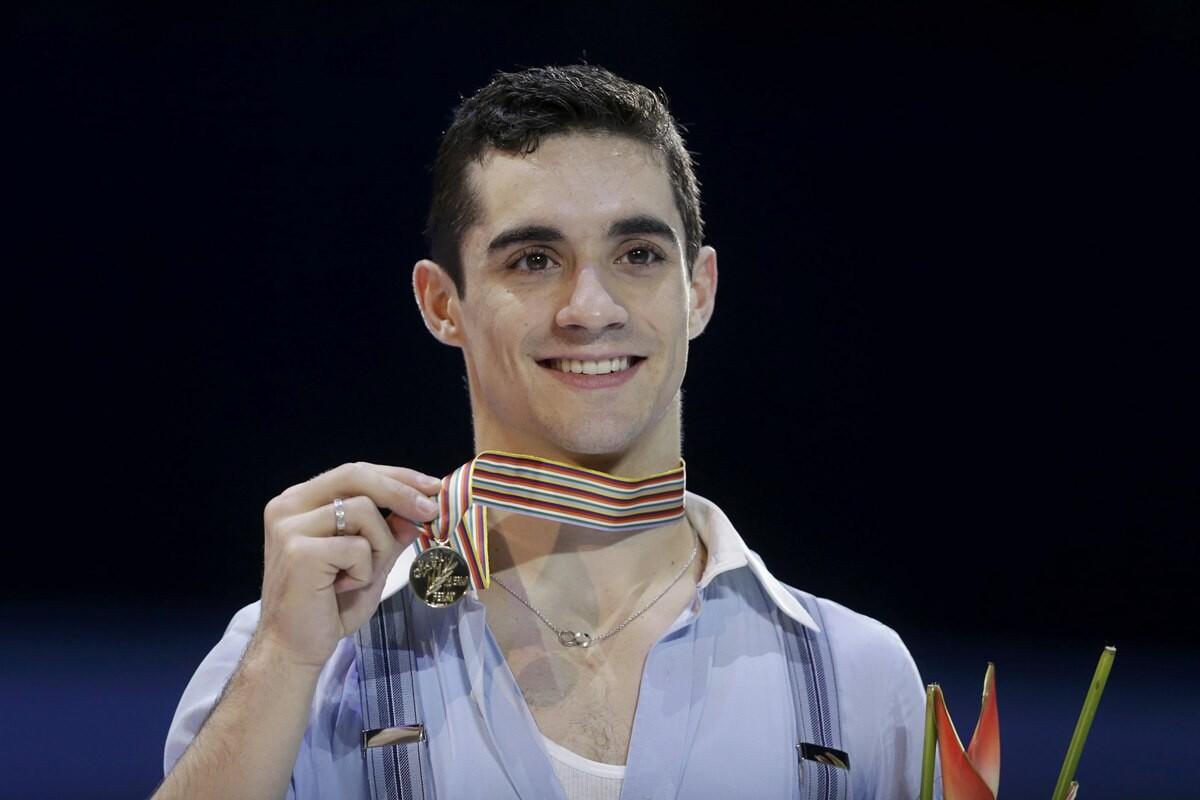 Javier Fernandez campeon de europa de patinaje