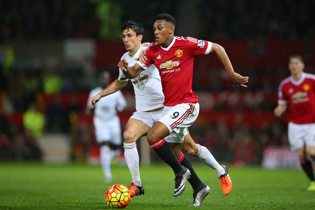 Anthony Martial, delantero del Manchester United