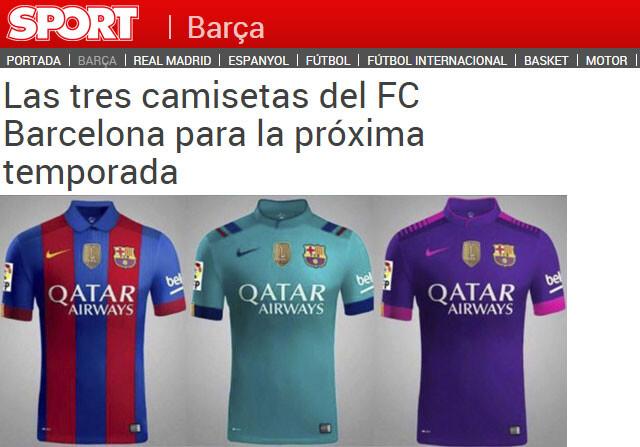 dc6ce9943df5c Camisetas del FC Barcelona 2016 17