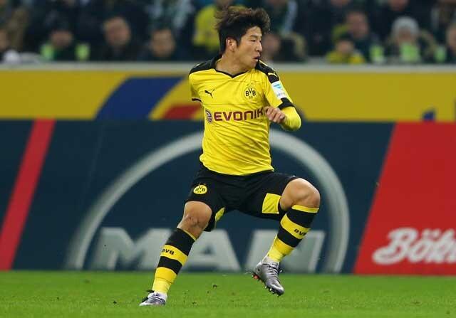 Kagawa es jugador del Borussia Dortmund