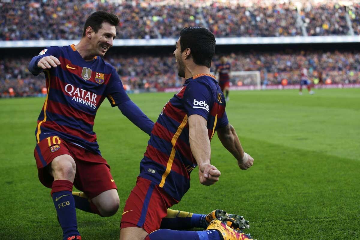 Leo Messi y Luis Suárez son jugadors del FC Barcelona