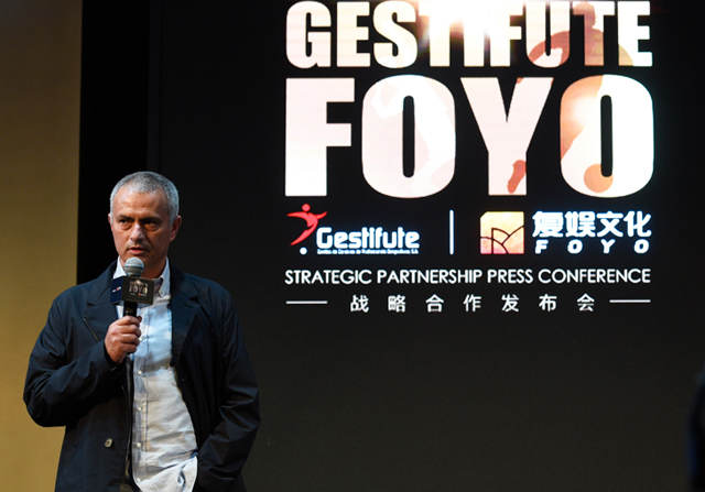 Mourinho, embajador de Gestifute