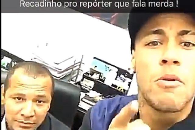 Neymar responde a Manolo Lama