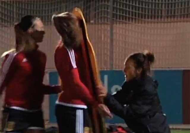 Alexia Putellas en un entrenamiento de la Selección.